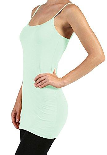 Plain Basic Cami Cotton Tank Top - Many Colors