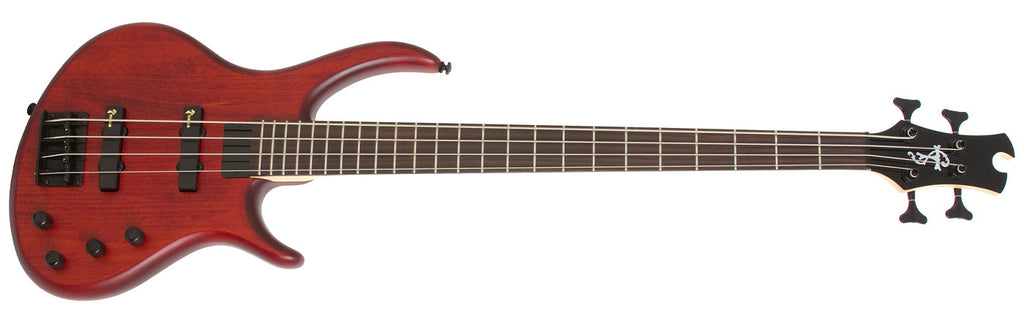 EPIPHONE TOBY DELUXE - IV 4 STRING BASS GUITAR, SATIN WALNUT | Zoso Music