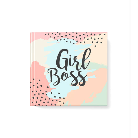 Girl Boss Hardbound|Square Notebook