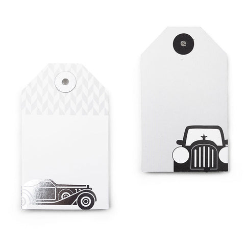 Vintage Cars: The Stroke Of Monte Cristo Gift Tags