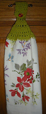 Wildflowers Kitchen or Bath Towel