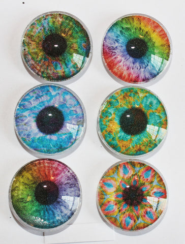 Eyes Glass Gem Super Strong Magnets