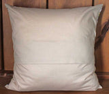 Lavender Lilacs Cotton Throw Pillow Cover