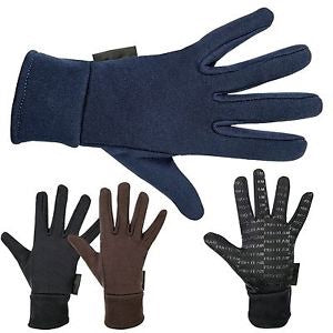 HKM Fleece Riding Gloves
