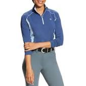 Ariat Tri Factor 1/4 Zip Top