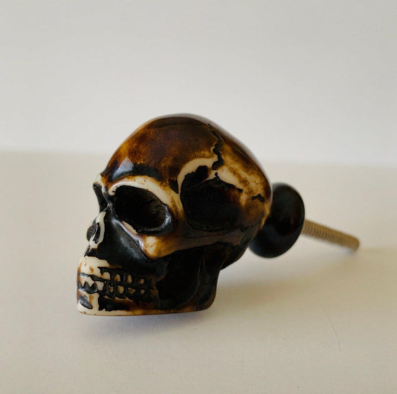 Skull Head Cabinet Knobs Dresser Drawer Pulls Goth-Dwyer Home Collection