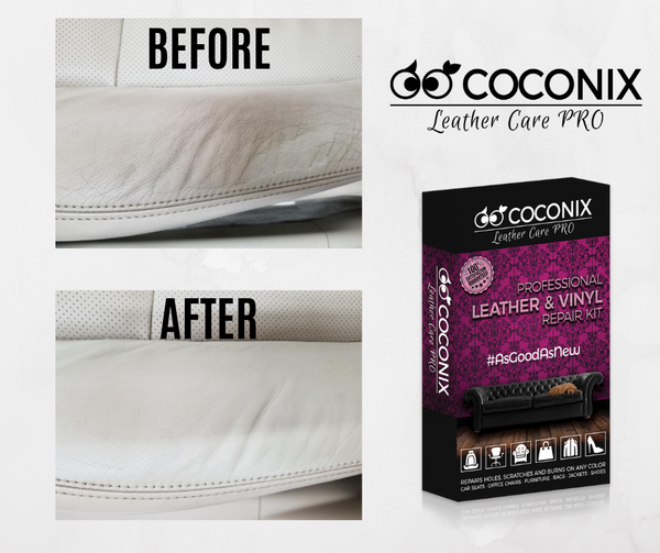 Customer Review - Coconix Professional Leather and Vinyl Repair Kit: THE RESULTS ARE AMAZING!
