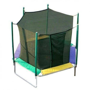 12' Magic Circle Hexagon Trampoline with Enclosure