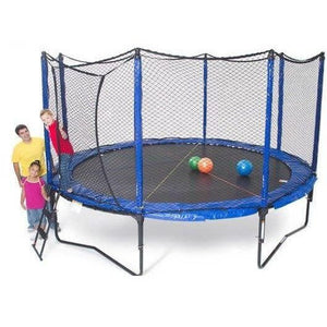 14' SoftBounce Round Trampoline with Enclosure