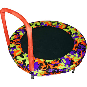 "48"" Round Bouncer Camouflage Orange"