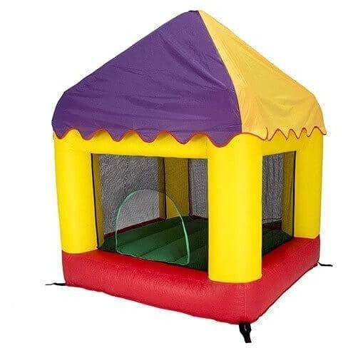6.25' X 6' Bounce House Combo with Circus Cover-Bazoongi-YardKid