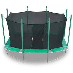 9x14 Magic Circle Rectagon Trampoline with Enclosure