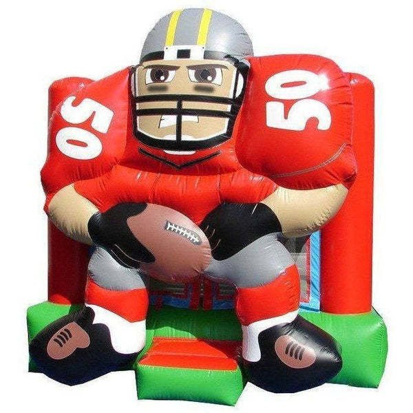 Commercial Football Bounce House 15x15-Happy Jump-YardKid