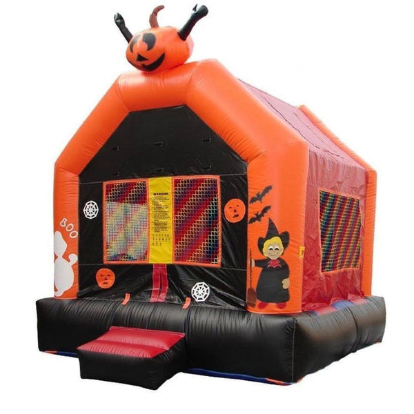 Commercial Halloween Bounce House-Happy Jump-YardKid