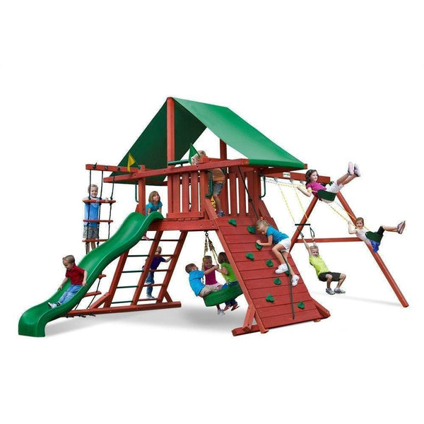 Sun Valley I Swing Set-Gorilla Playsets-YardKid