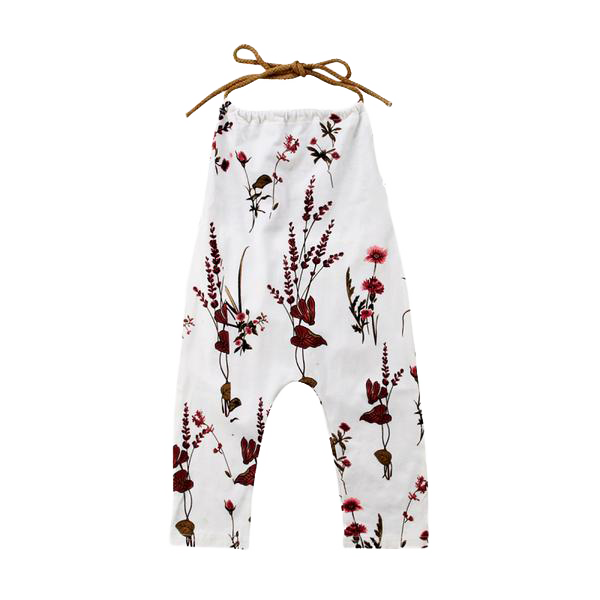 Petite Bello Romper 6-12 Months Backless Floral Romper