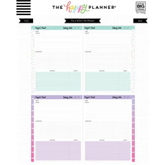 BIG HAPPY PLANNER - PROJECTS FILL PAPER - ME & MY BIG IDEAS