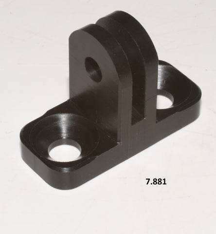 Clamp Male M6 for GoPro housing