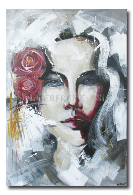Celine - Painting On Canvas at INTERFRAME-ASIA