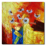 Daisies in Sunset - Painting On Canvas at INTERFRAME-ASIA