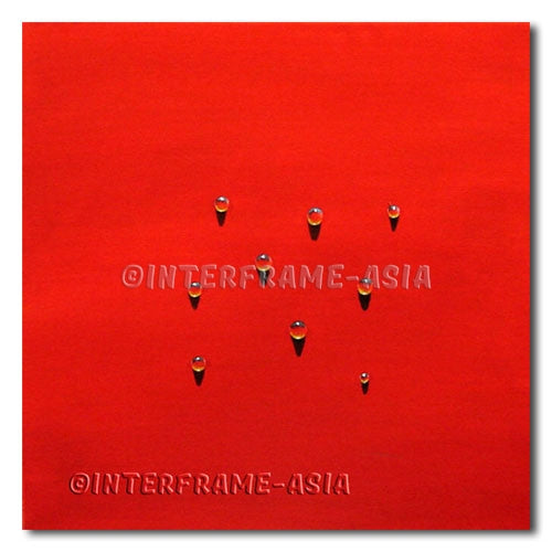 Lucky Droplets - Painting On Canvas at INTERFRAME-ASIA