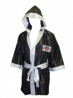 Satin Robe 3/4 Length