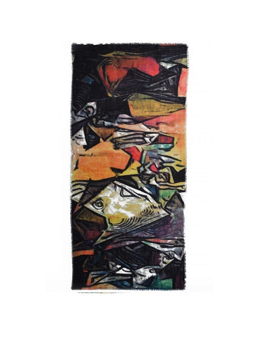 Pablo Picasso Painting Scarf