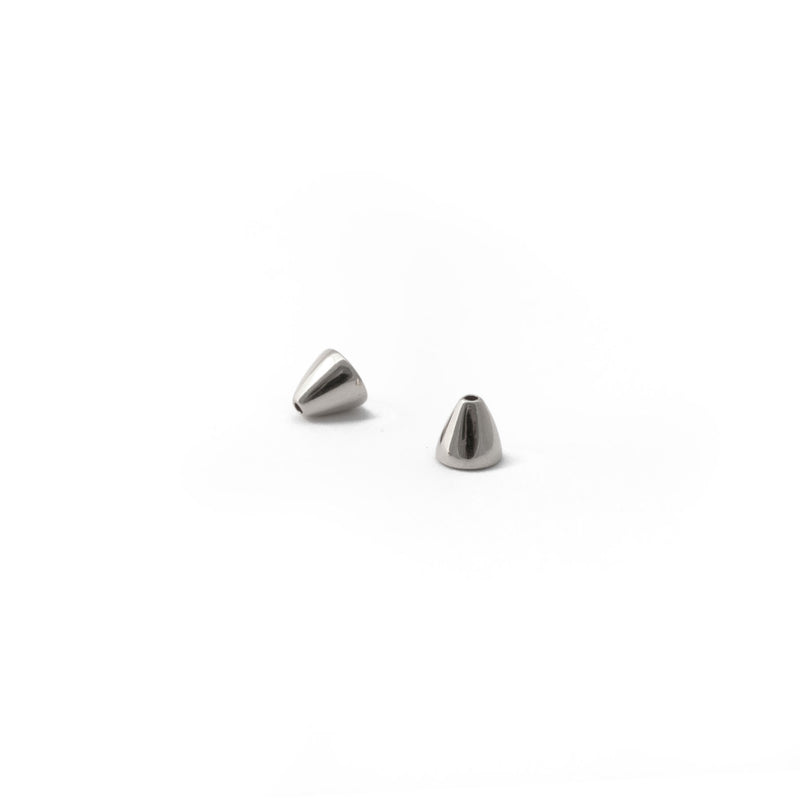 Tide Stud Earrings in Silver