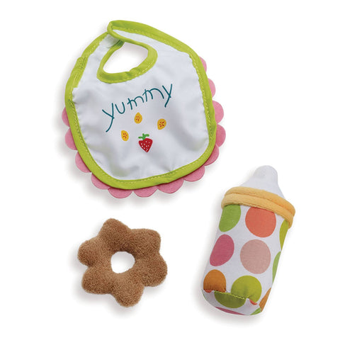 Soft Doll Wee Baby Stella Feeding Set