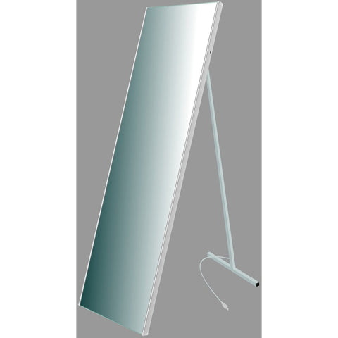 MTD Vanities Vadara Illuminated Floor Mirror DL03AS - BathVault