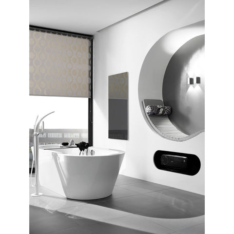 WarmlyYours Ember Glass Radiant Heating Wall Panel IP-EM-GLS - BathVault