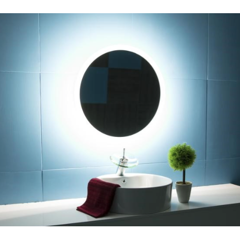 IBMirror Illuminated Vanity Mirror - Paris Round 110V - BathVault