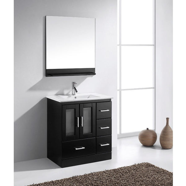 Virtu USA Zola 30″ Single Bathroom Vanity Cabinet Set MS-6730-S - BathVault