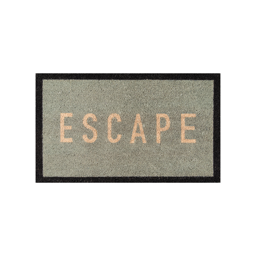 Escape Blue Doormat