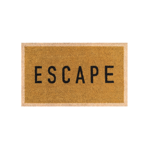 Escape Gold Doormat