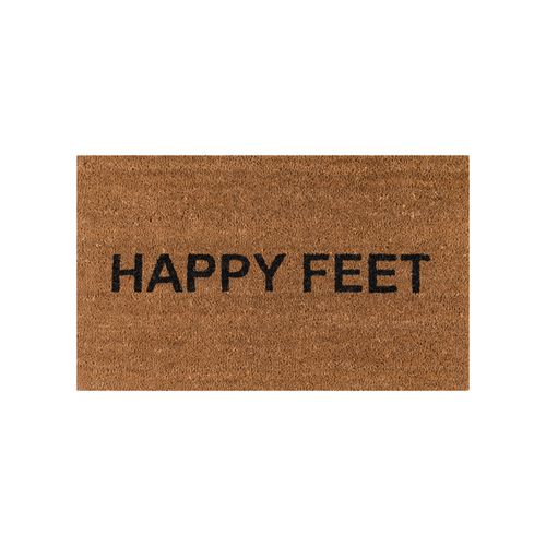 Happy Feet Doormat