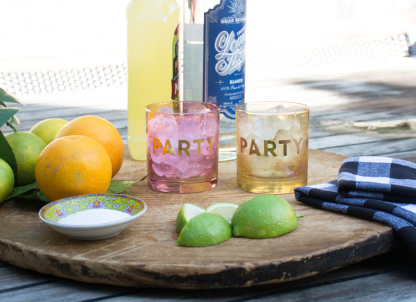Party Glasses (Set of 2)