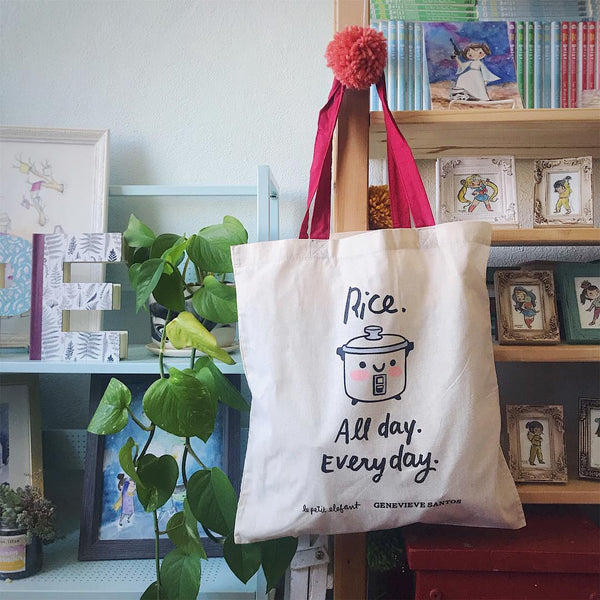 Rice Cooker Tote Bag