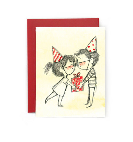 Birthday Clink Greeting Card