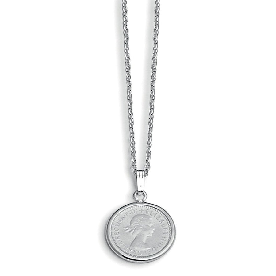 Von Treskow Six Pence Coin Necklace