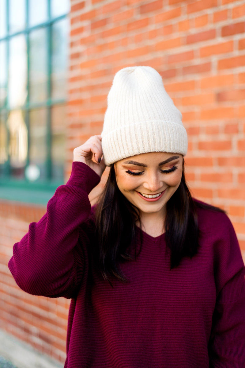 New Fleece on Life Lined Beanie