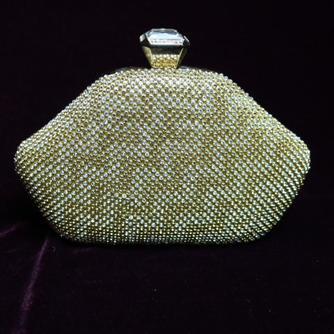 Crystal Beaded Clutch