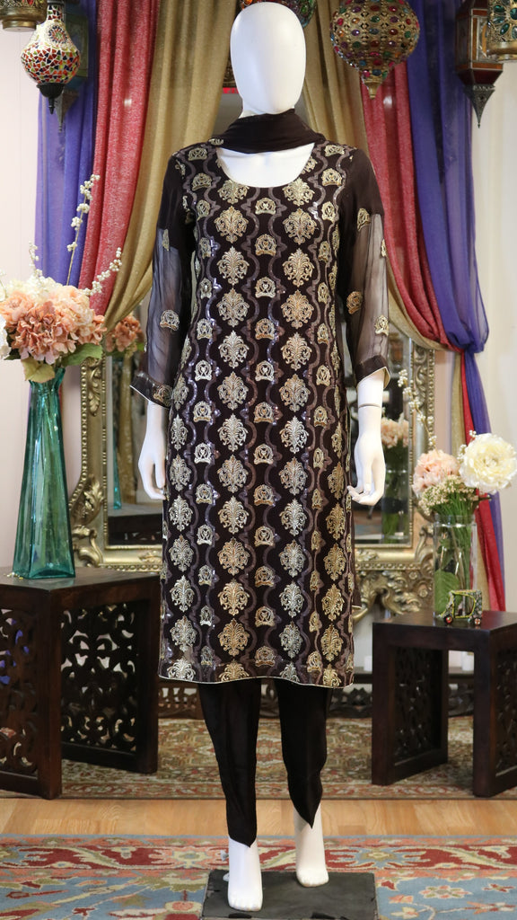 Sitara Threaded Shalwar Kameez