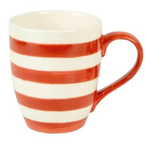 Mason Cash Mugs - set of 6 Mix/Match Red/White