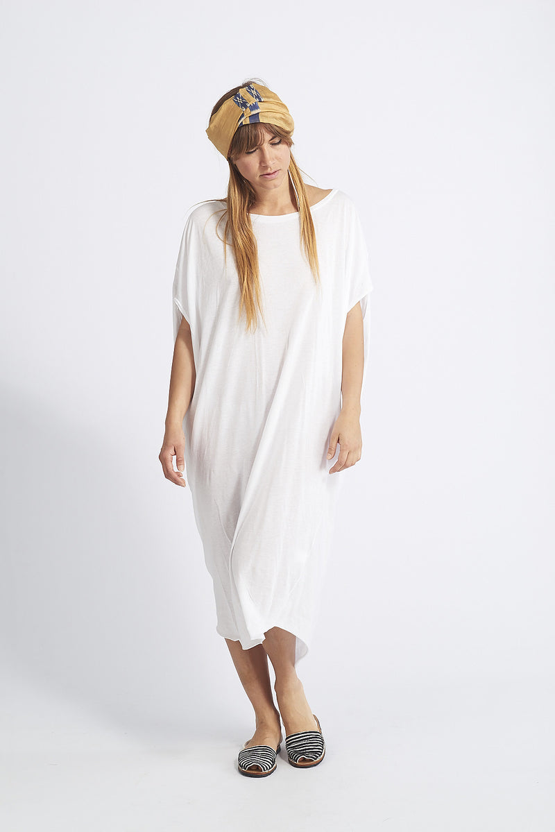 Indie Asymetrical Long Cotton Dress