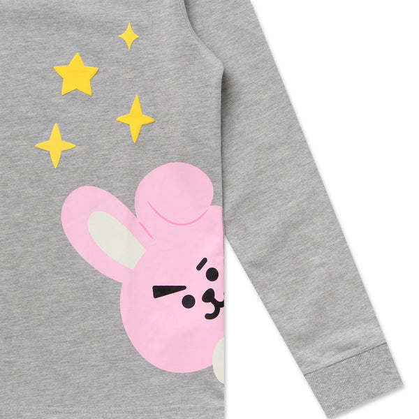 BT21 x Hunt Innerwear - Long Sleeve Shirt - Peekaboo Cooky
