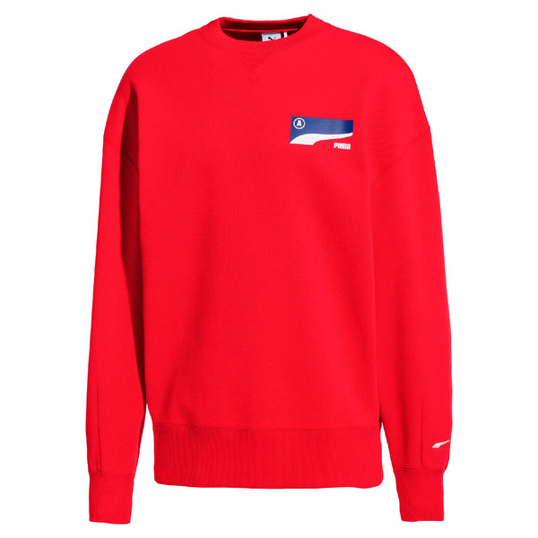 Puma x Ader Error - 2019 S/S Red Crewneck Sweatshirt
