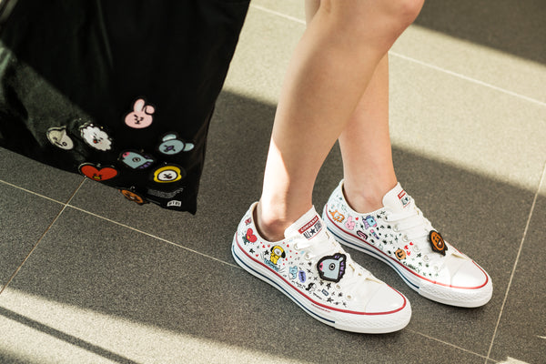 Converse X BT21 - Low Top - White - Sneakers - Harumio