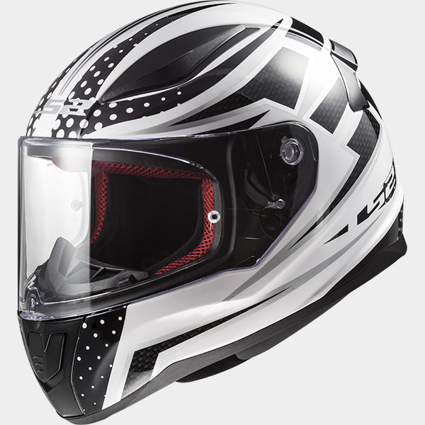 LS2 Rapid FF353 Carborace White/Black