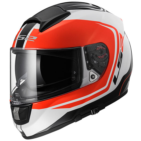 LS2 Vector Wake FF397 - White / Black / Red